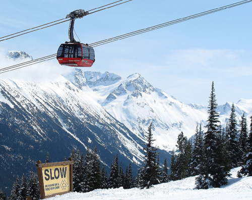 Peak2Peak Gondola at Whistler