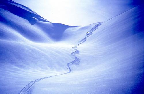 Skier Off Piste