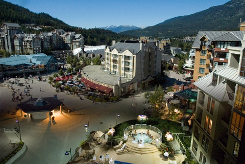 The ski resort of Whistler