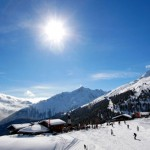 Austrian ski resort of Soelden