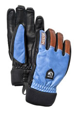 Hestra army leather wool ski gloves