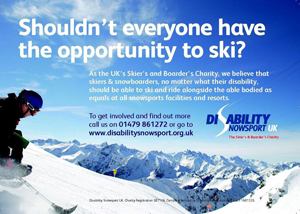 Disablilty SnowSports UK