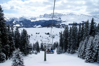 Ortisei ski lift