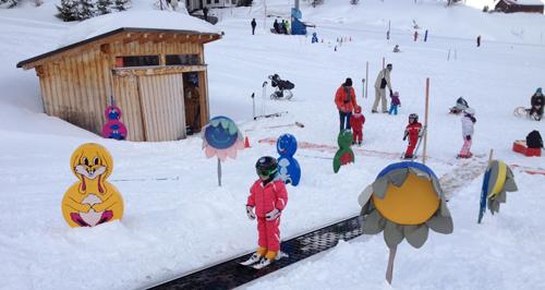 Kindergarten Ski Class