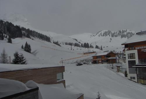 View from room of Lechtaler Hof hotel