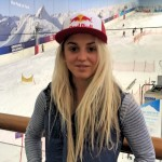 Aimee Fuller at The Snow Centre