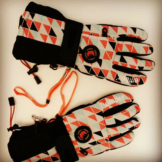 Looking forward to testing out these heated #gloves from @emberwear