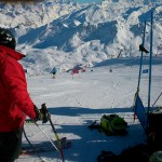 Race Carve Course Tignes