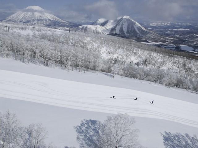 Rusutsu ski resort Japan