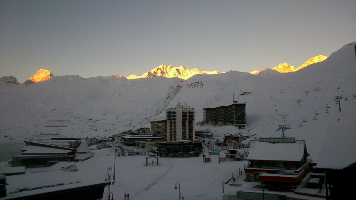 tignes-sunrise