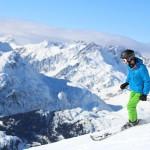 Skier in St.Anton with Saami Kemi Jacket
