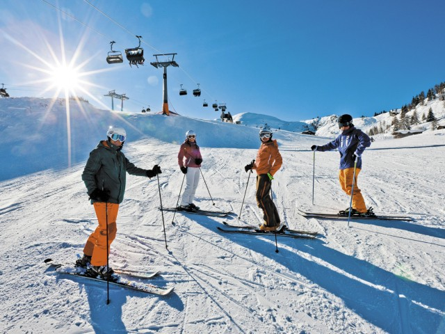 Scladming skiing
