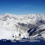 Top of the Gemsstock Andermatt