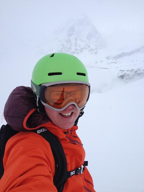 Skiing in Cervina