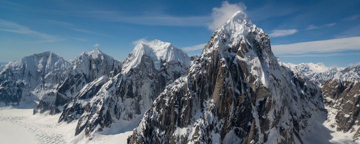 Alaskan mountains