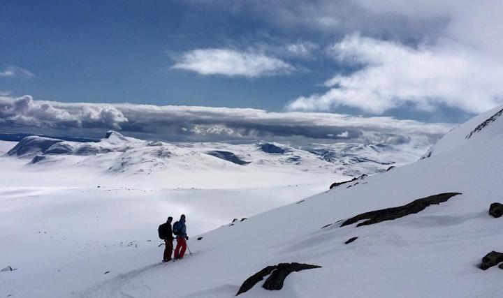 Ski Touring Beitstolen Norway