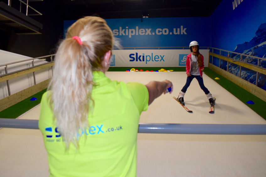 Shelly - ski instructor at Skiplex Basingstoke