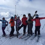 Mt Ruapehu ski group
