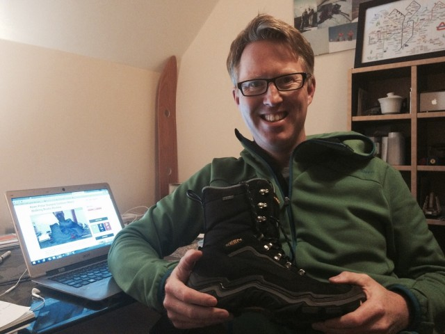 Rob with Keen boot