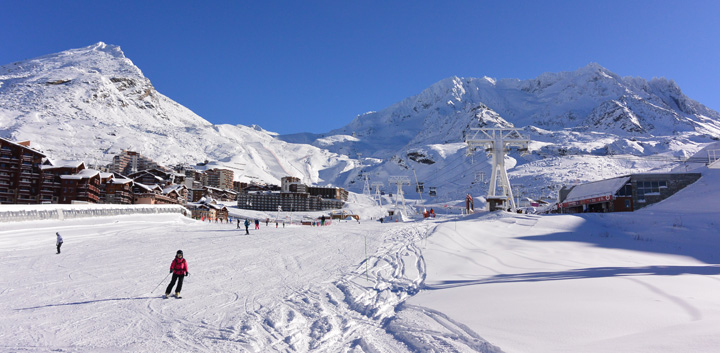 Val Thorens slopes