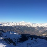 View from top of Courchevel