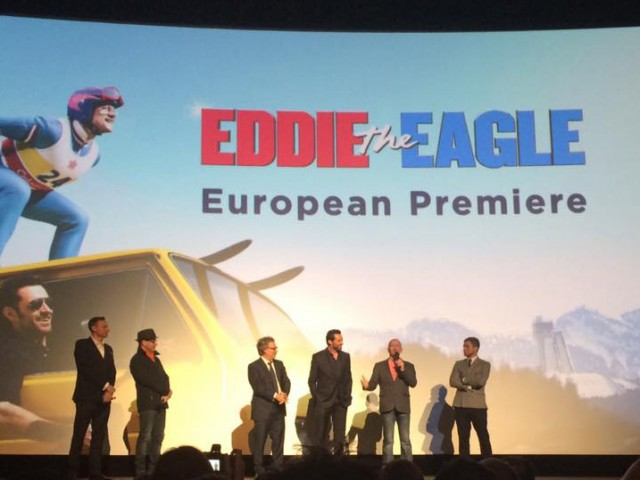 Eddie the Eagle film premiere