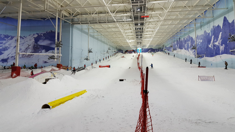 A weekend ski holiday in manchester chill factore snow