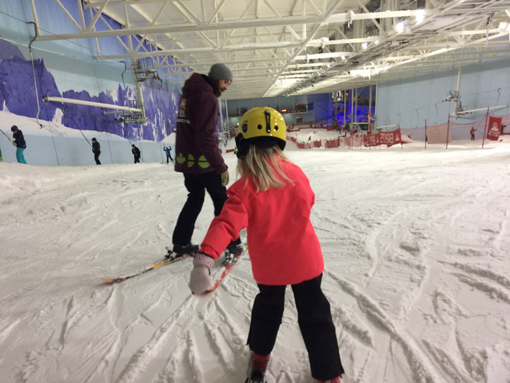 Chill Factore Ski Lesson