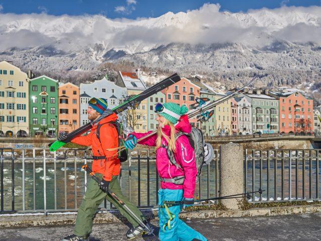 Innsbruck skiers