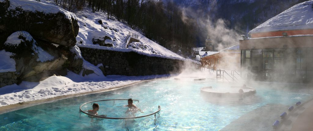 Les Bains du Rocher Spa in Cauterets