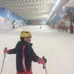Skiing at the snowcentre