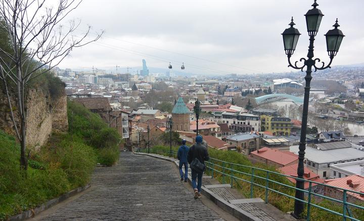 Tibilisi view