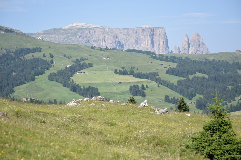 Dolomites at Val Gardena