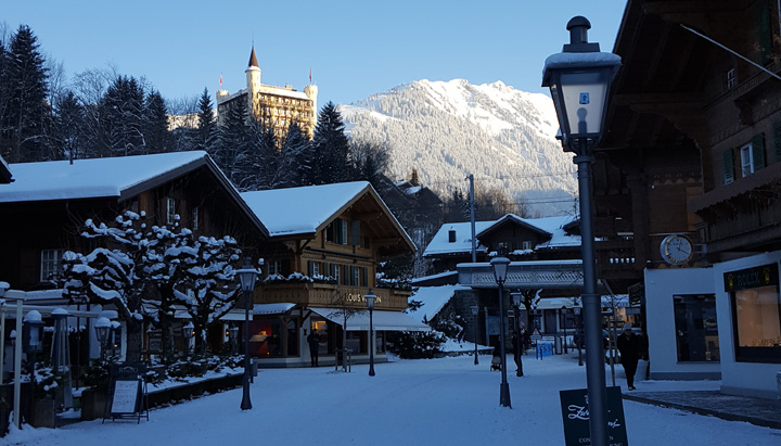 Gstaad town
