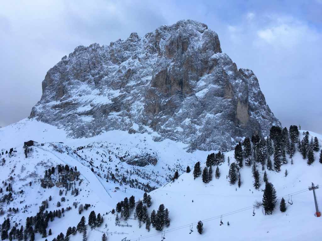 The Dolomites at Val Gardena