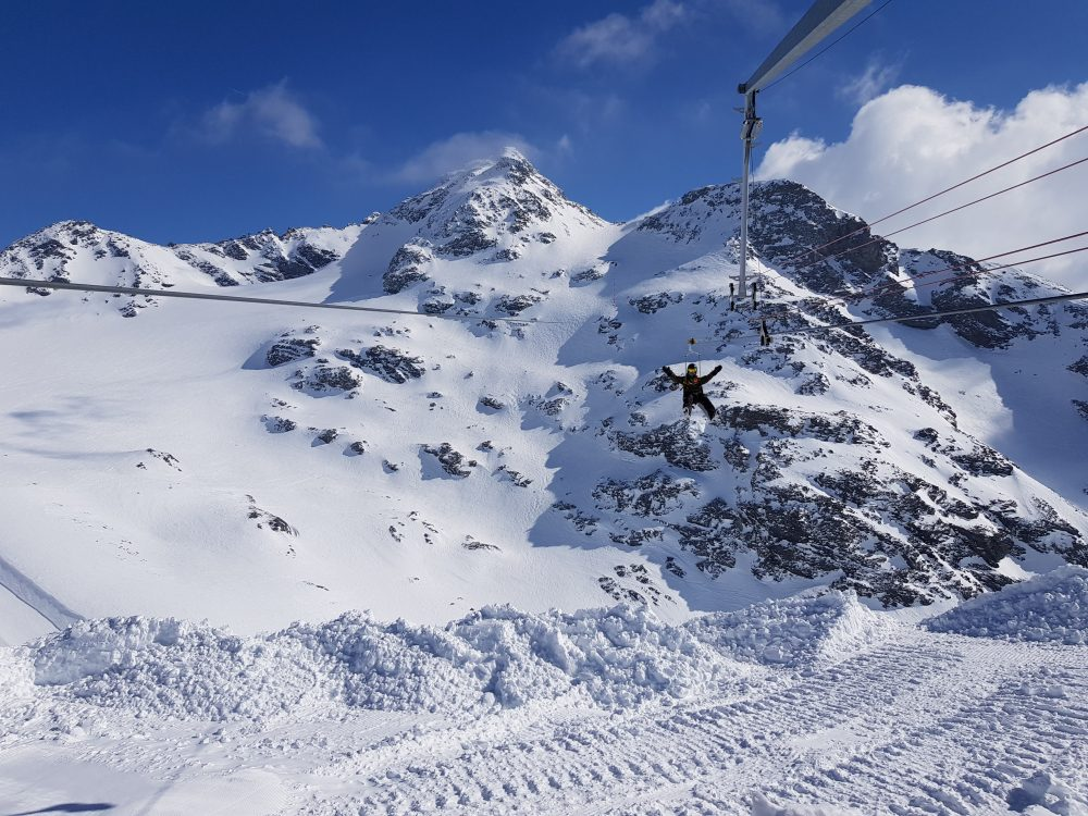 La Tyrolienne Zipline - The 3 Valleys