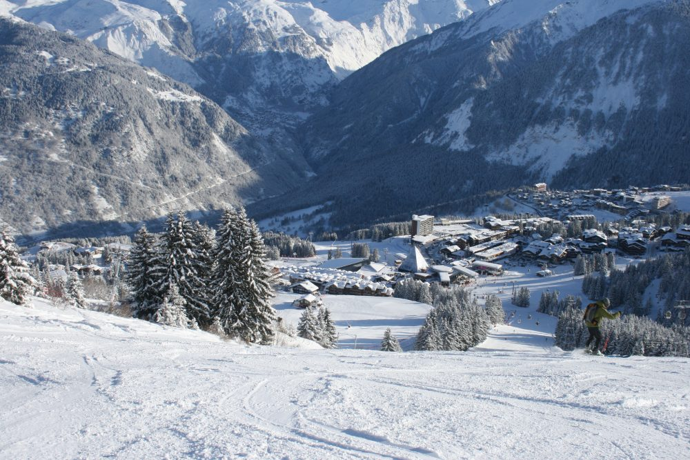 Courchevel - the 3 Valleys - CC Flickr image by Ian Gratton