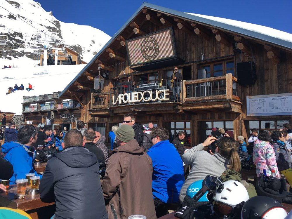 La Folie Douce at the 3 Valleys, France