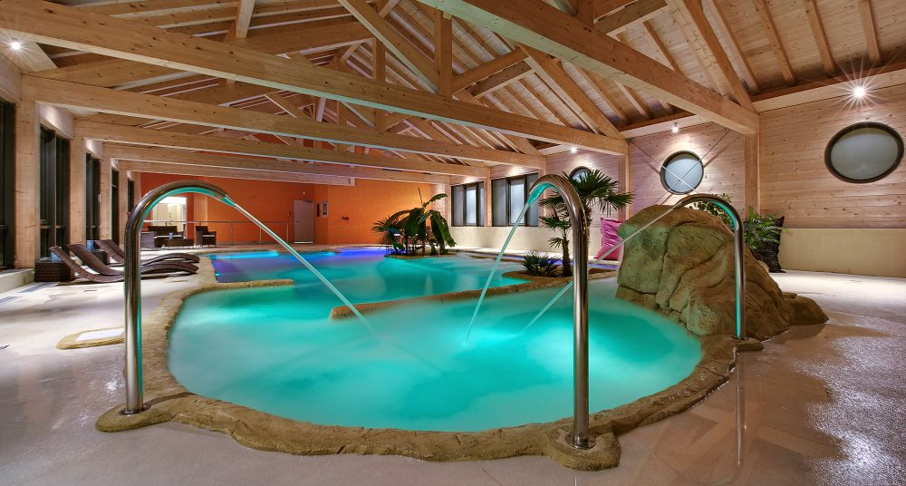 Review of Les Menuires - Le Menuire Chalet Hotel and Spa - spa area