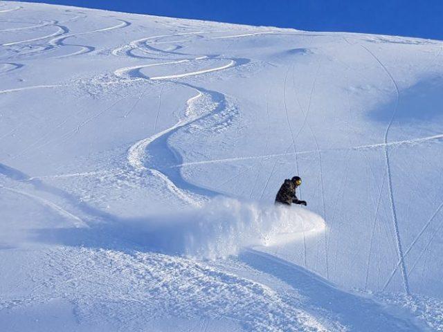 December snowboarding trip - powder ischgl
