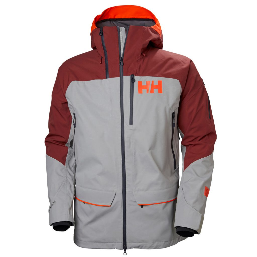 Helly Hansen Ridge shell jacket review - front