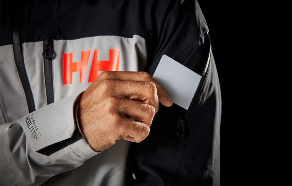 Helly Hansen Ridge shell jacket review - lift pass pocket