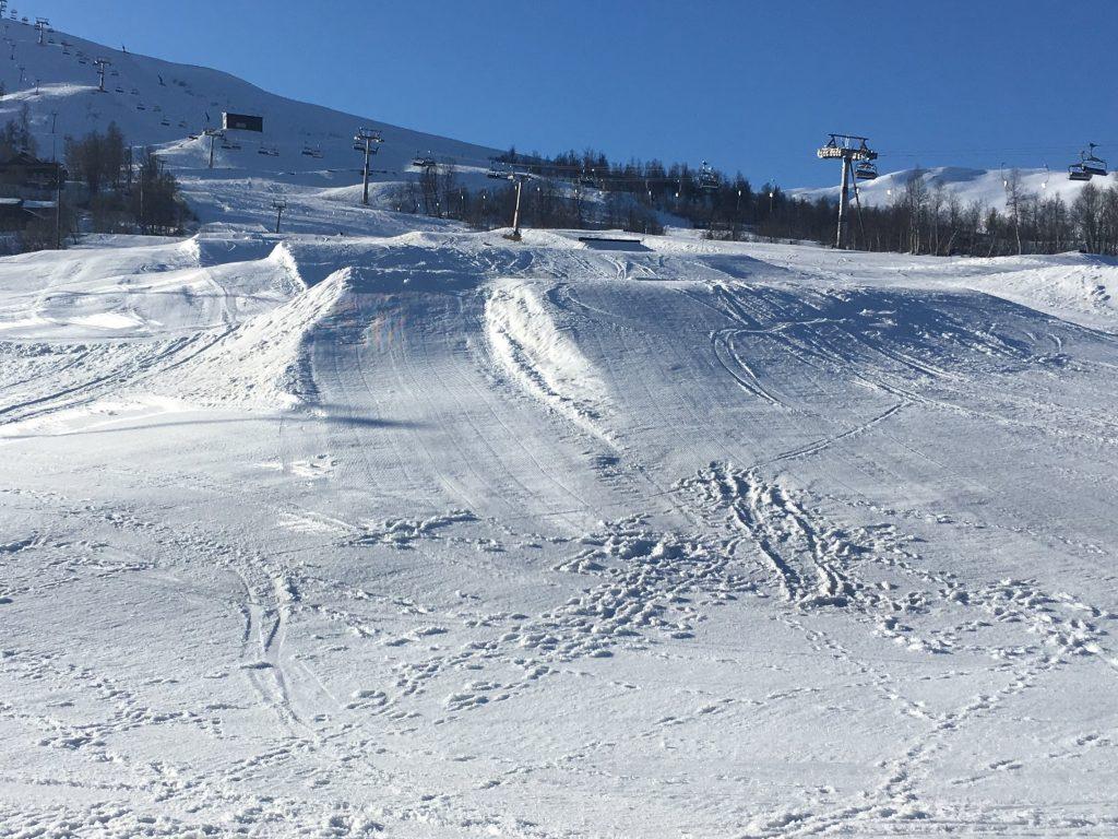 Myrkdalen snow park