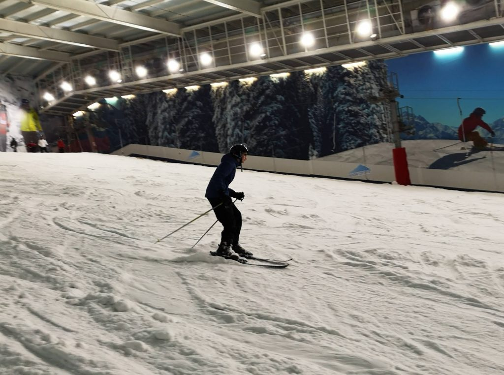 salesian ski school trip - The snow centre