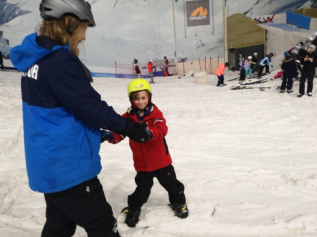 The snow centre hemel hempstead - snowboard lesson