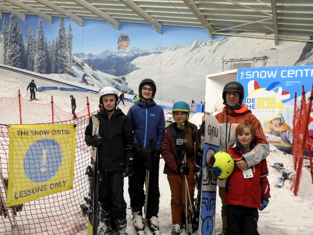 salesian school ski trip - the snow centre hemel hempstead