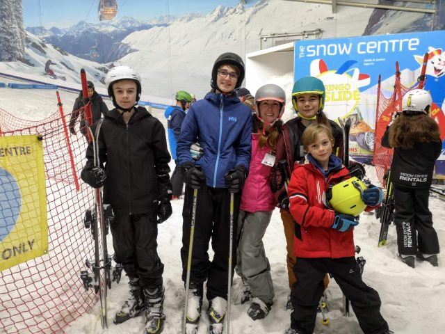 family day out at The Snow Centre Hemel Hempstead