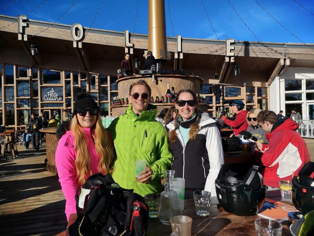 ski beat vegan week - Les Arcs Folie Douce