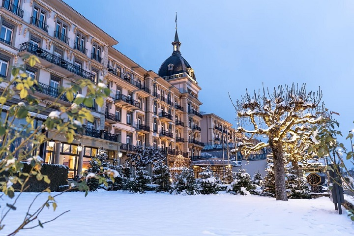Victoria Jungfrau Hotel in Interlaken